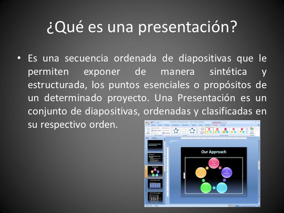 Es un programa diseñado para hacer presentaciones con texto esquematizado, fácil de entender, animaciones de texto e imágenes, imágenes prediseñadas o importadas desde imágenes de la computadora.