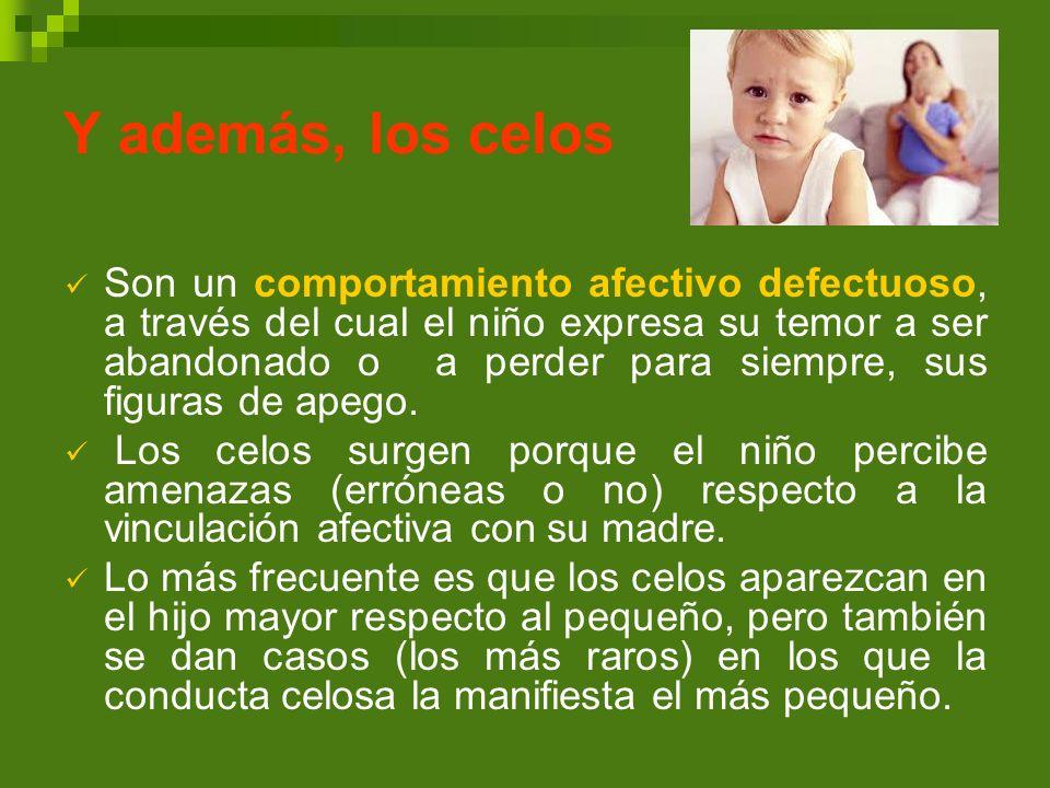 Cómo diagnosticar los celos infantiles REGISTRO DE CONDUCTASSINO Conductas referidas a los hábitos alimentarios.
