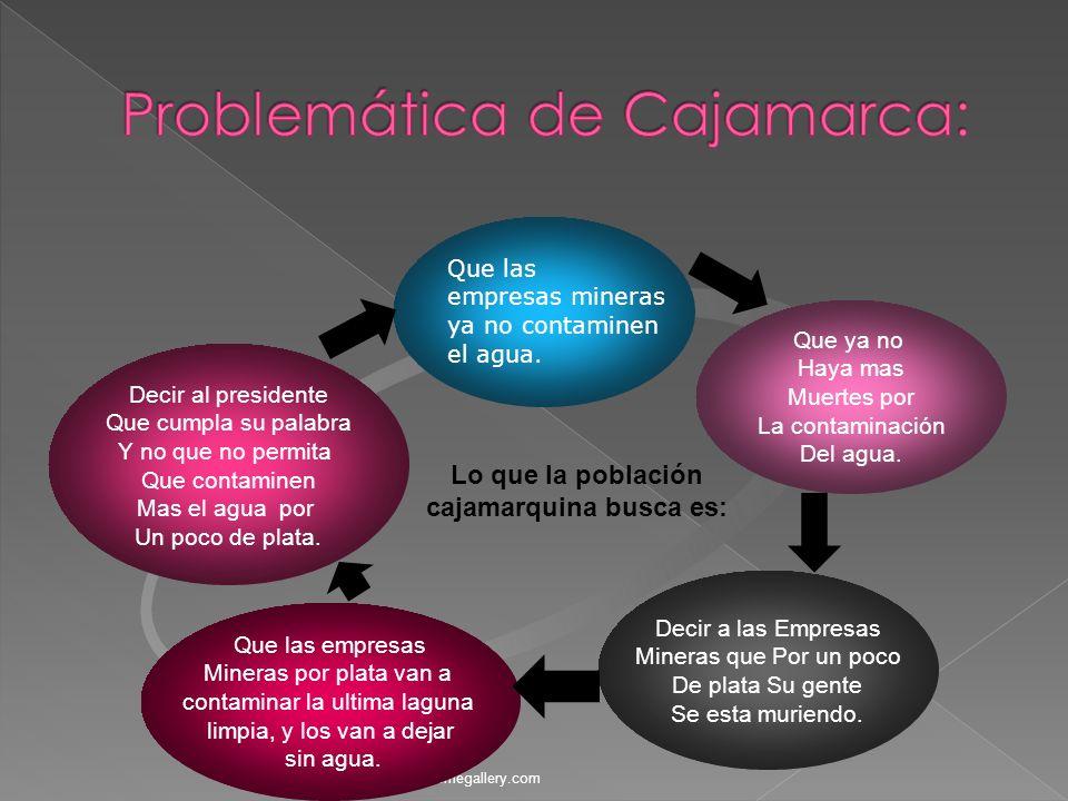 www.themegallery.com Gracias al proyecto conga en Cajamarca se desarrollaran proyectos productivos que Mejoraran la calidad de vida De las personas.