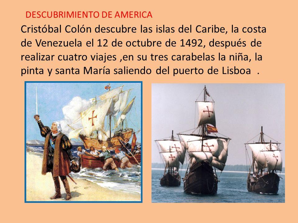 LA CONQUISTA DEL IMPERION DE LOS INCAS 1.- Con el descubrimiento de América que hizo Cristóbal Colón, otros españoles se motivaron por viajar, conocer y conquistar estas nuevas tierras.