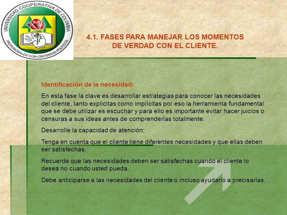 4.5.TECNICAS PARA EFECTUAR UNA COMUNICACIÓN ASERTIVA CON EL CLIENTE.