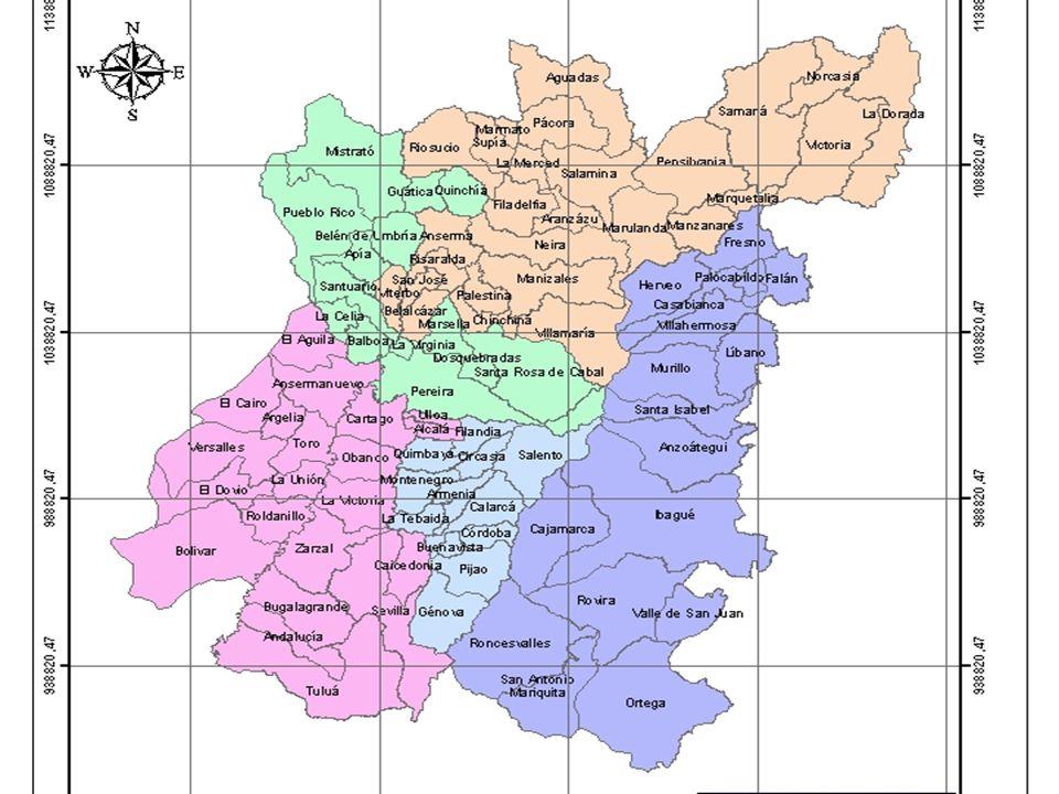 Procesos institucionales en la Ecorregión Oscar Arango Gaviria Las regiones no se decretan, se construyen progresivamente; Las limitaciones legales de la Ecorregión; Ecorregiones y límites político administrativos; Institucionalidad real vs formal.