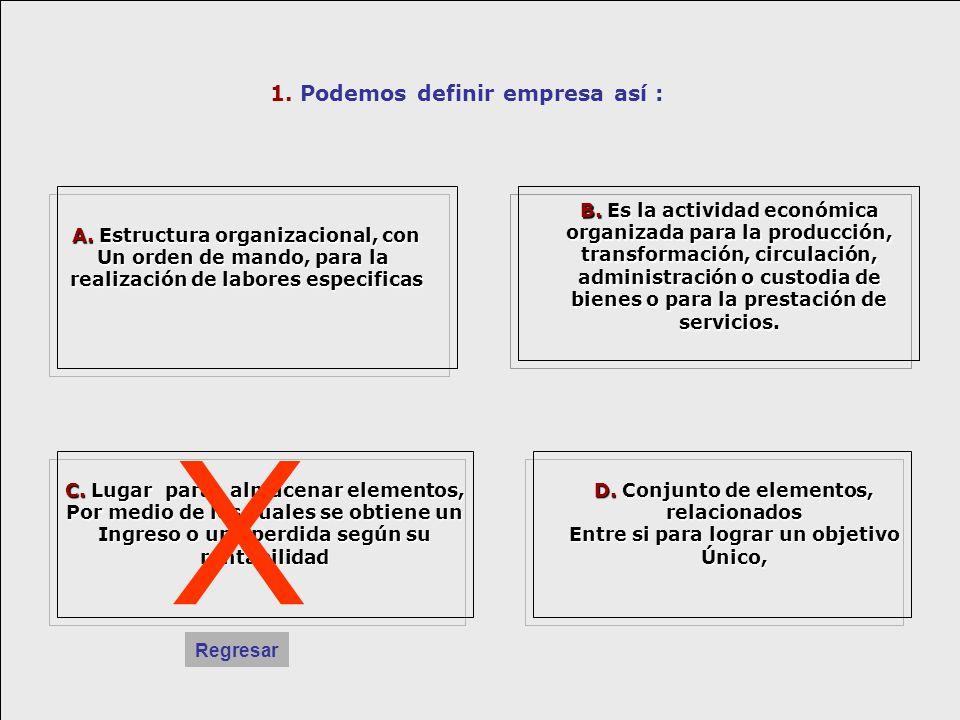 5.Como se clasifican las empresas .C. - C.
