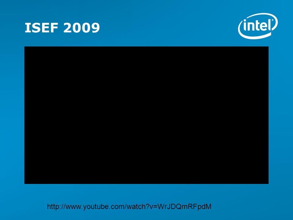 Copyright © 2009 Intel Corporation.All rights reserved.