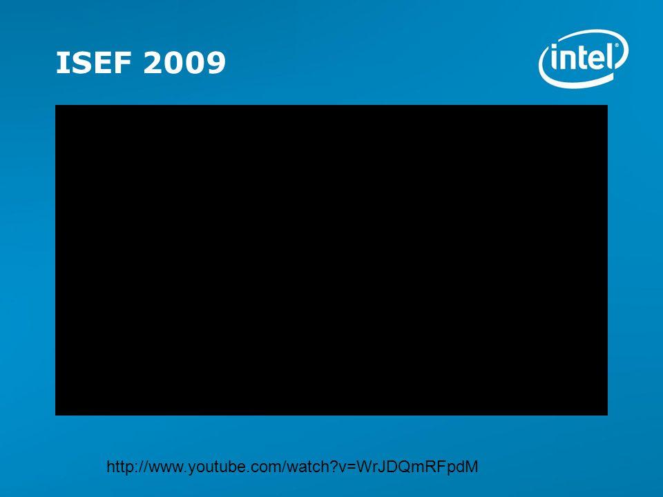 ISEF 2009 http://www.youtube.com/watch v=WrJDQmRFpdM