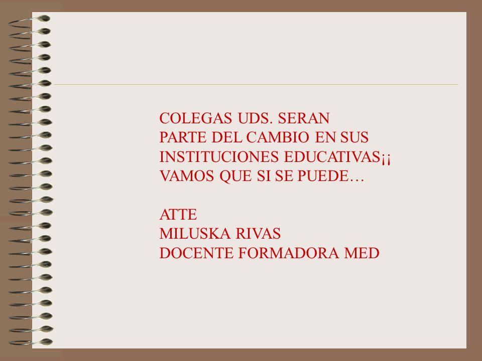 COLEGAS UDS.