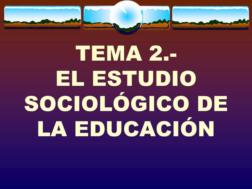 LA EDUCACIÓN EN EL MUNDO ACTUAL La educación es una actividad social tan básica como el trabajo en las sociedades actuales.