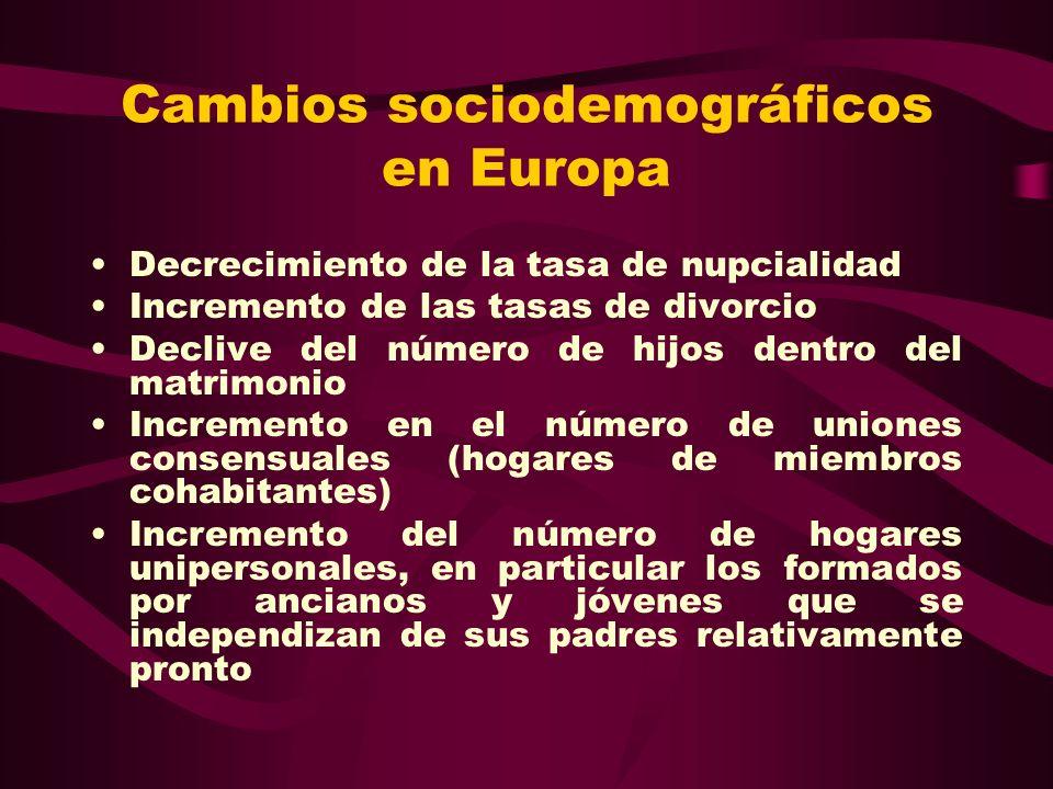 4.- El futuro de la familia en España Aumento de las familias monoparentales, fundamentalmente las encabezadas por mujeres solteras, divorciadas y separadas, lo que tendrá consecuencia en una mayor matrilinealidad familiar.