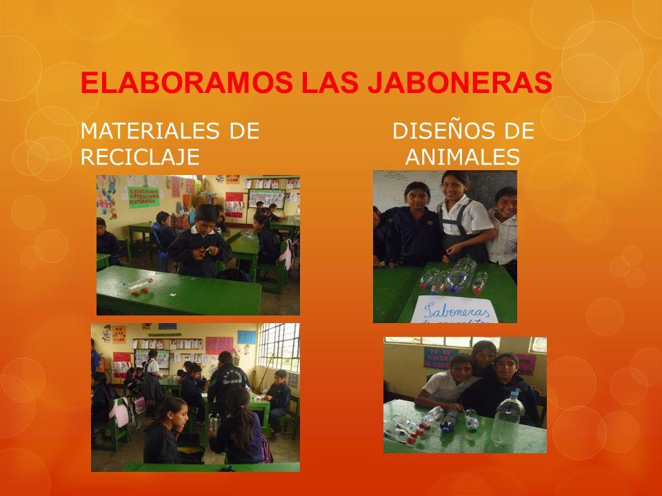 ELABORAMOS LAS JABONERAS MATERIALES DE RECICLAJE DISEÑOS DE ANIMALES