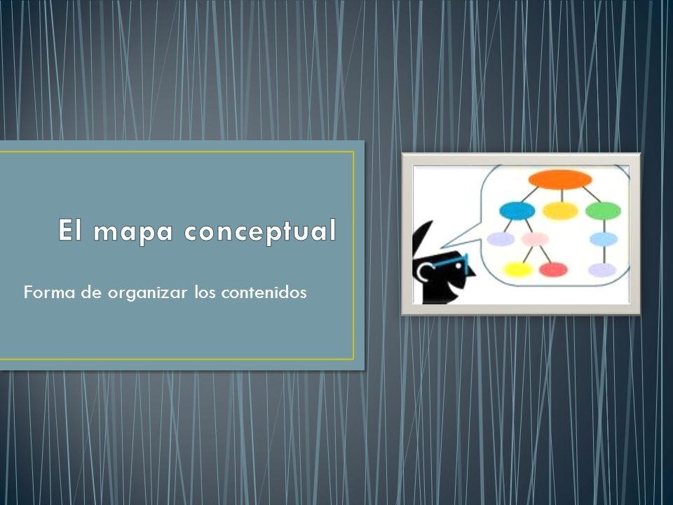 1.- El Mapa Conceptual es útil si los cursos requieren un pensar profundo , en lugar de la memorización de hechos y datos.