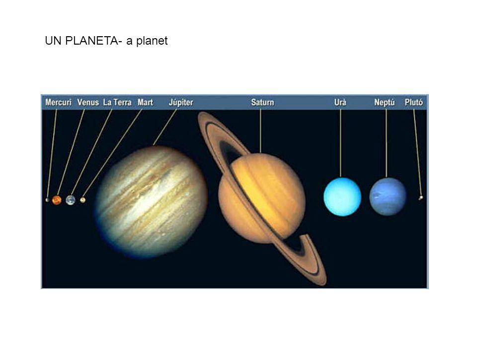 UN PLANETA- a planet
