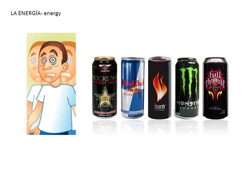LA ENERGÍA- energy