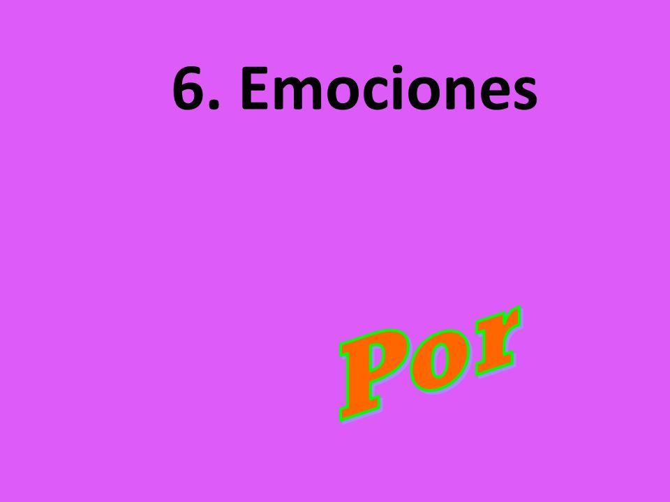 6. Emociones