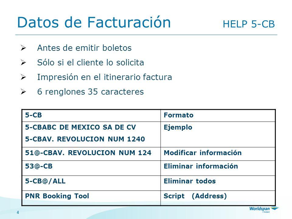 4 Datos de Facturación HELP 5-CB 5-CBFormato 5-CBABC DE MEXICO SA DE CV 5-CBAV. REVOLUCION NUM 1240 Ejemplo 51@-CBAV. REVOLUCION NUM 124Modificar info