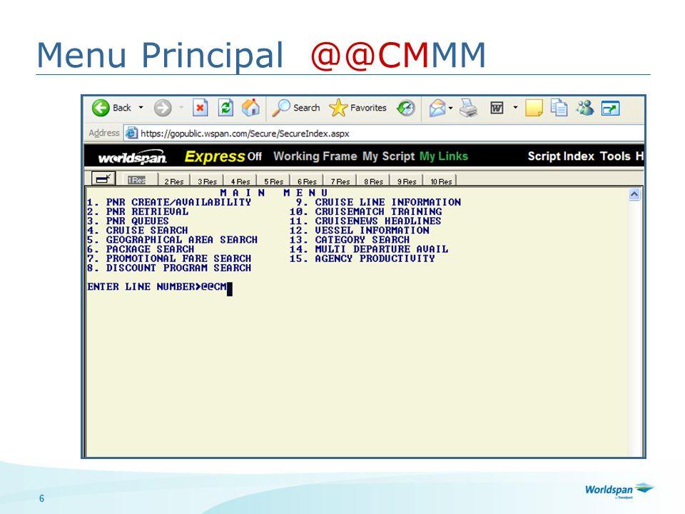 17 @@CM*O Completar datos del pasajero