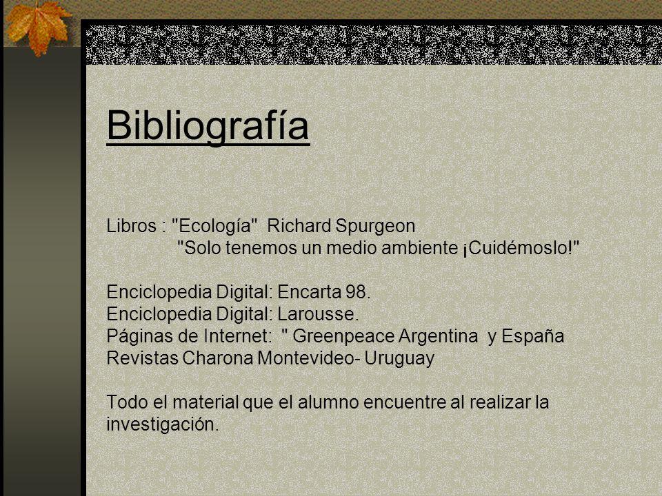 Bibliografía Libros :