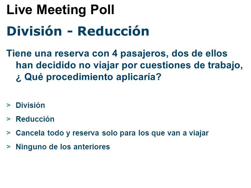 Reducción Los pasos para hacer una reducción son : >1.