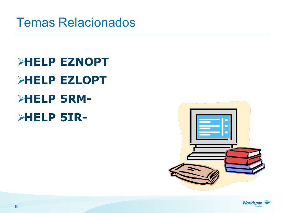10 Temas Relacionados HELP EZNOPT HELP EZLOPT HELP 5RM- HELP 5IR-