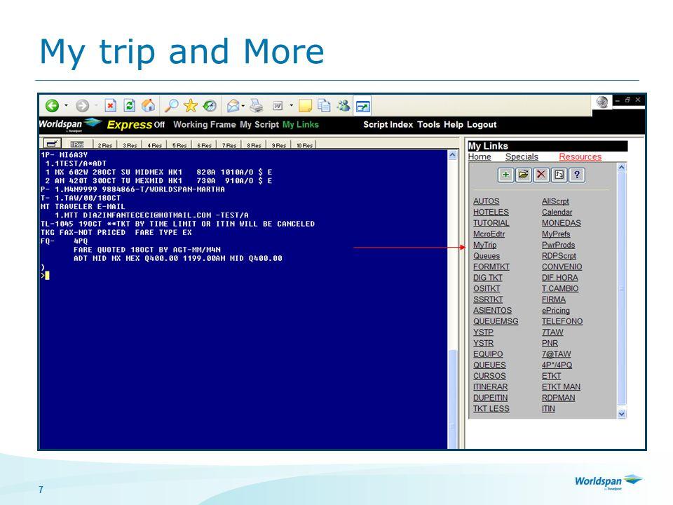8 Queue de Mensajes de Impresión Mensajes pendientes de impresión Icono de HPM activo 4GT Identificar el DA de la impresora de itinerarios YSTPXXXXXX YSTRXXXXXX