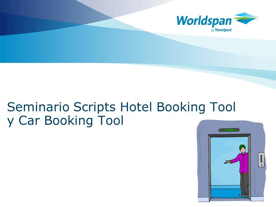 2 Objetivos Al finalizar el seminario el agente de viajes tendrá la habilidad de: Identificar que es un script.