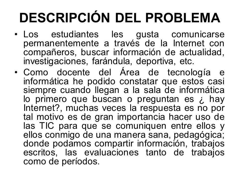 PREGUNTA A INVESTIGAR ¿Qué acciones pedagógicas se pueden implementar para comunicarnos a través de la Wiki con los estudiantes de la Institución Educativa San Isidro de Ciénaga de Oro Córdoba?