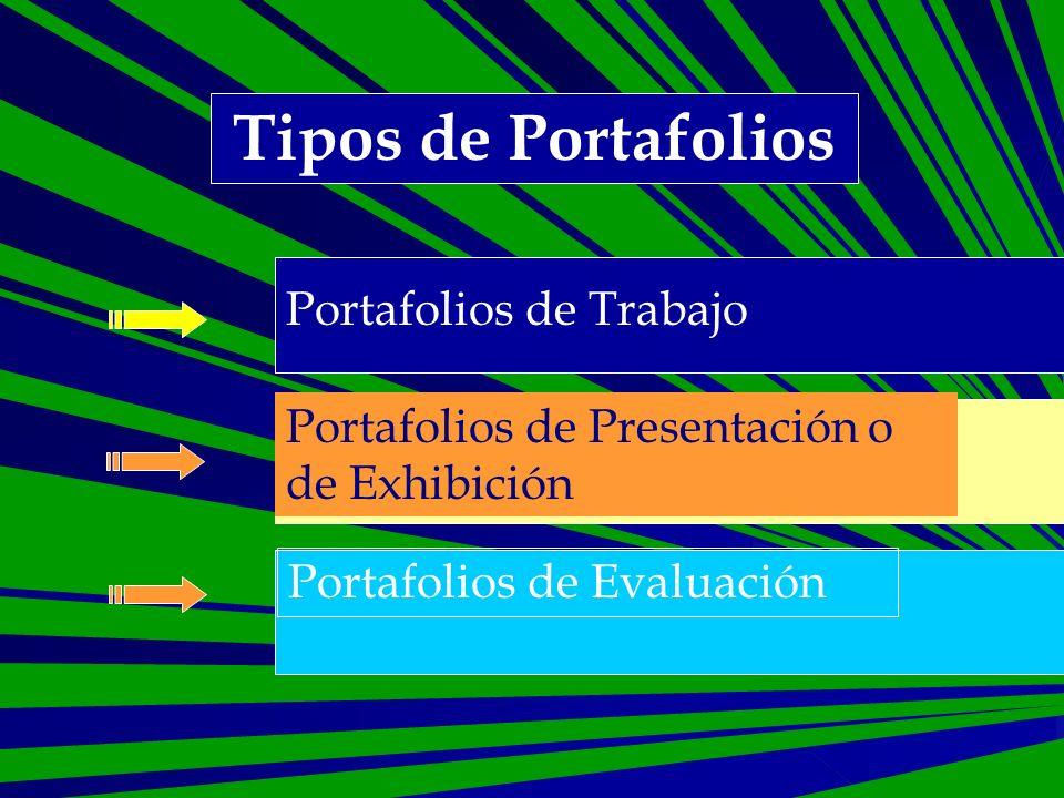 Portafolio de Evaluación Documenta qué y cómo se ha aprendido Los comentarios y reflexiones se centran en la demostración de logros