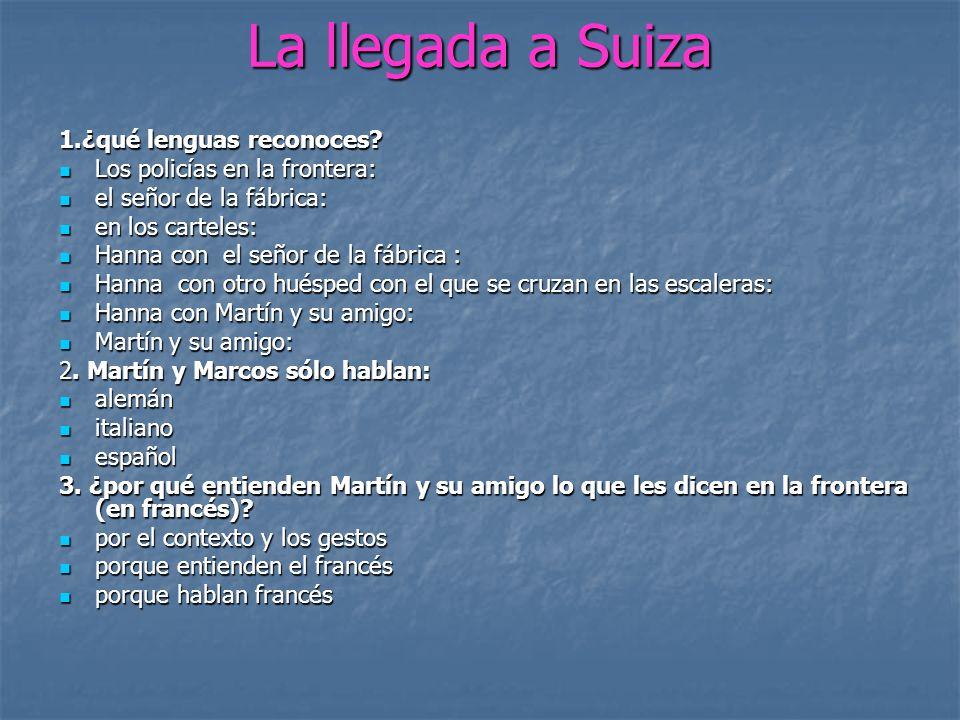 4.Los españoles se asombran de muchas cosas. De esto puedes deducir que: 4.