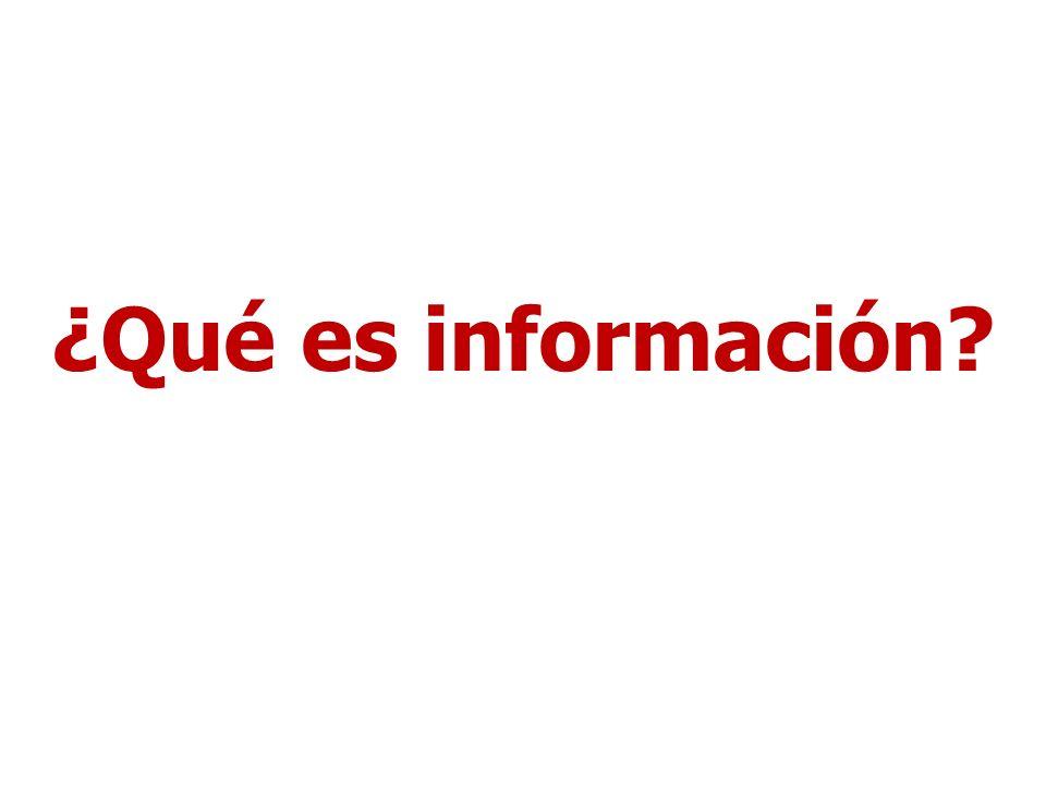 Información según la RAE 5.f.