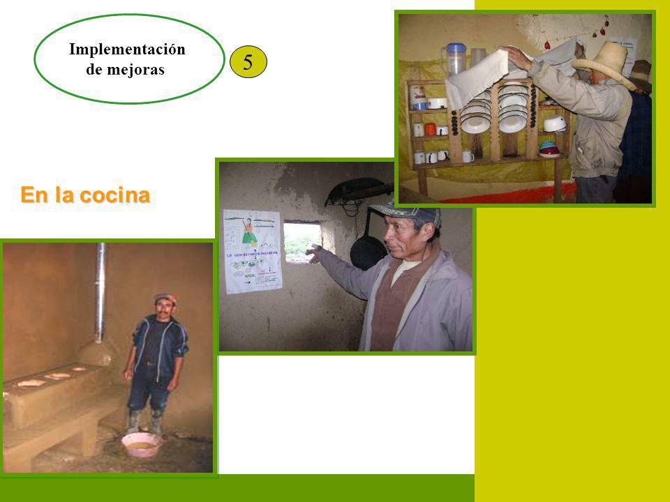 Implementación de mejoras 5 En la vivienda