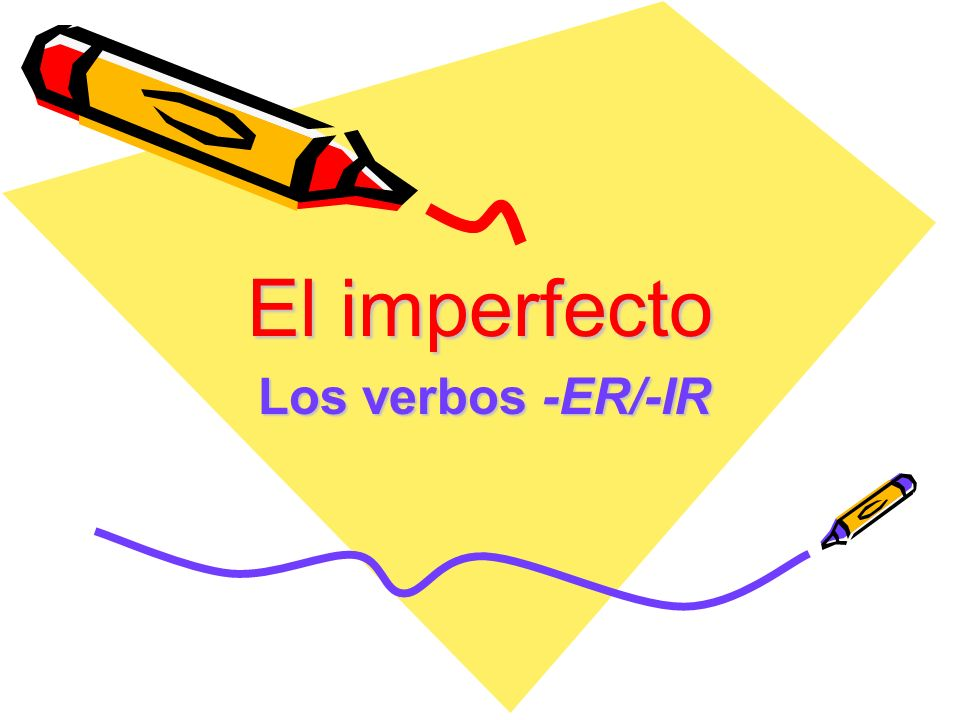 El imperfecto Usos del imperfecto: –Express habitual or repeated actions/events in the past –Actions without definite beginnings or endings (that continued for an indefinite time) –Gives the idea of used to… or was doing in English.