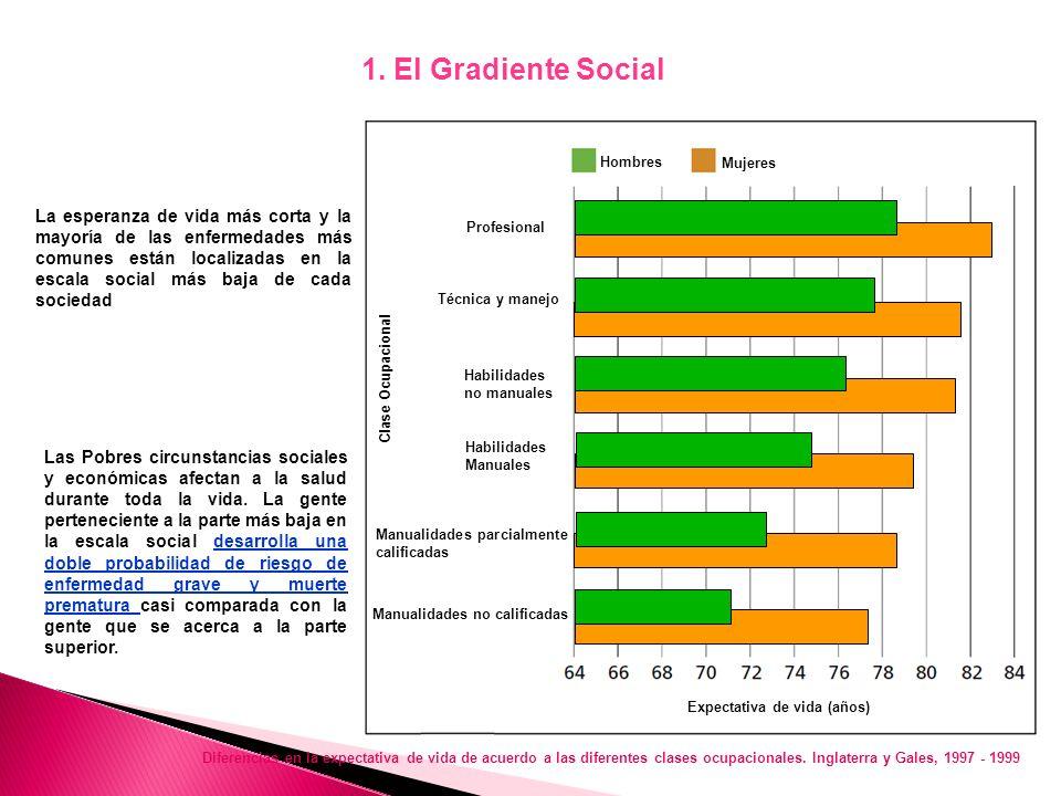 1. GRADIENTE SOCIAL 2. ESTRÉS 3. PRIMERAS ESTAPAS DE VIDA 4. EXCLUSION SOCIAL 5. TRABAJO 6. DESEMPLEO 7. SOPORTE SOCIAL 8. ADICCION 9. ALIMENTACION 10