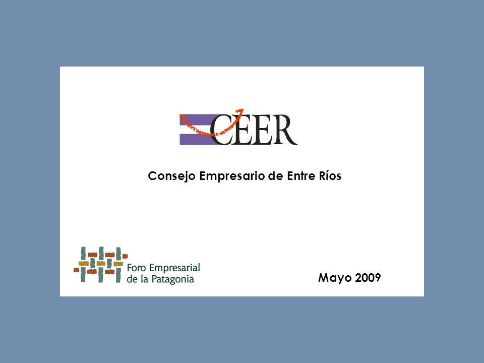 Consejo Empresario de Entre Ríos Mayo 2009