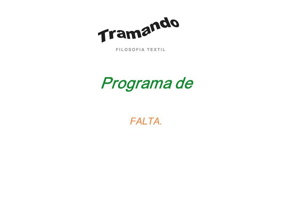 Programa de FALTA.