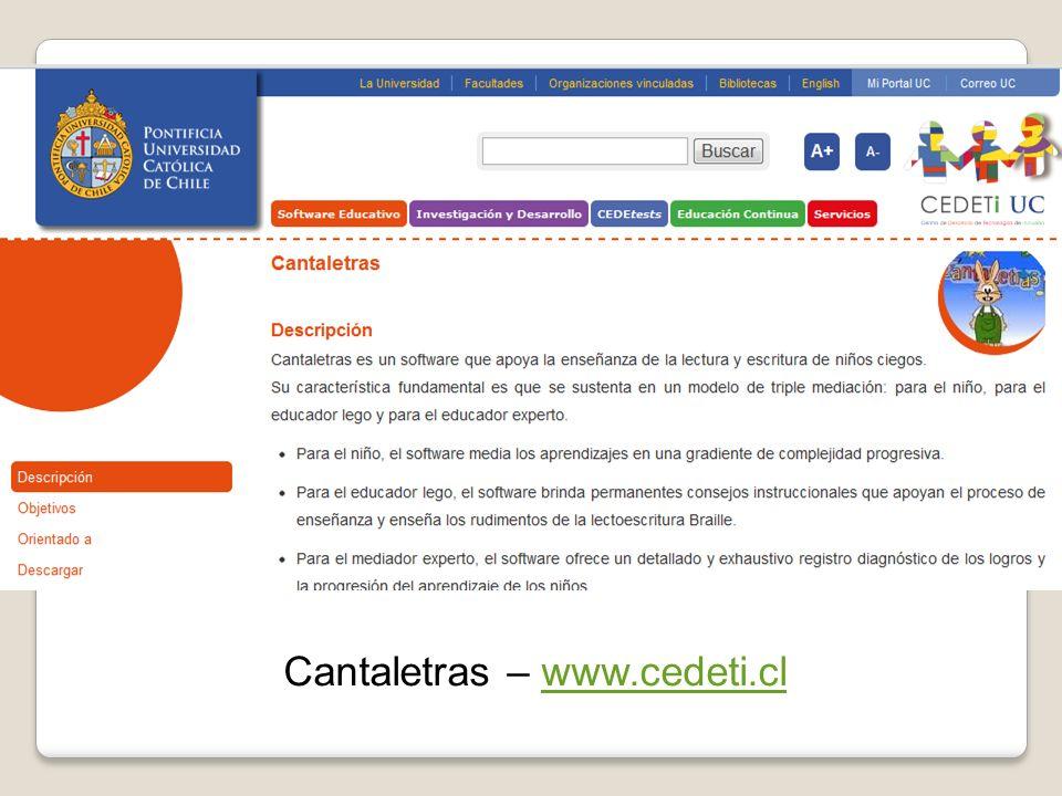 Cantaletras – www.cedeti.clwww.cedeti.cl