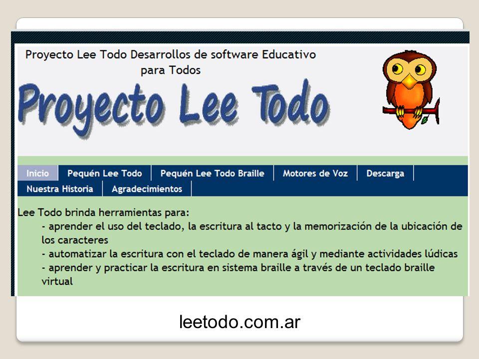 Lectores de texto y de pantalla ORCA www.inci.gov.co