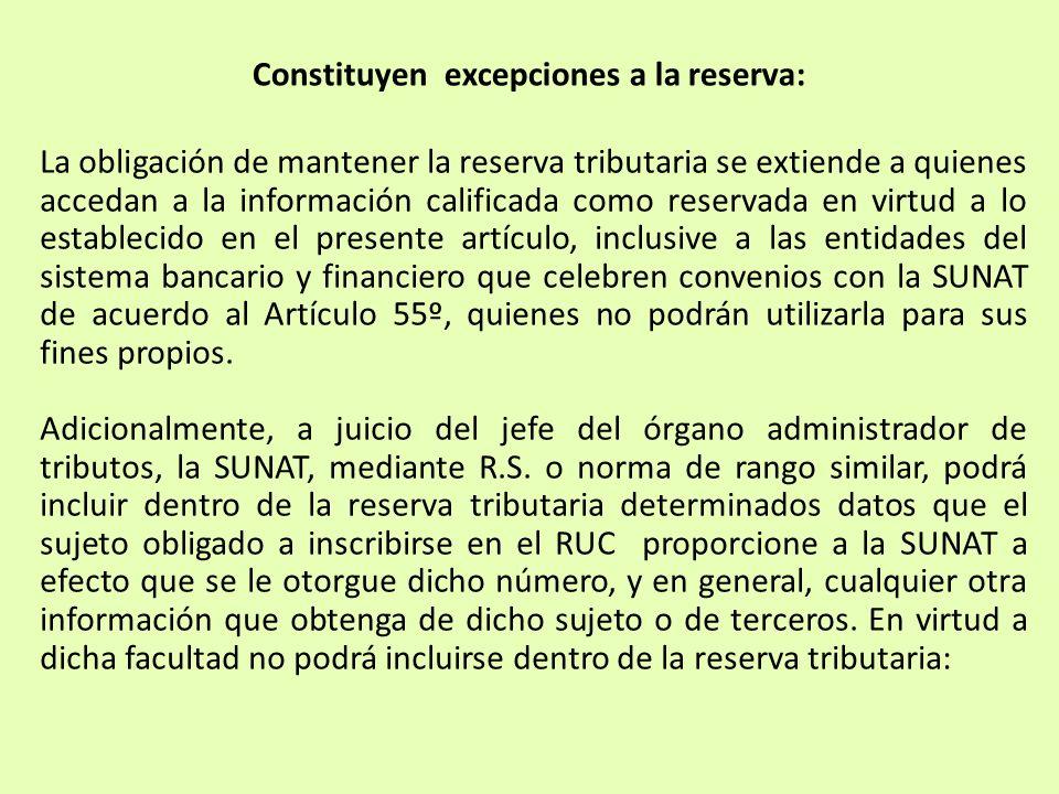 La obligación de mantener la reserva tributaria se extiende a quienes accedan a la información calificada como reservada en virtud a lo establecido en