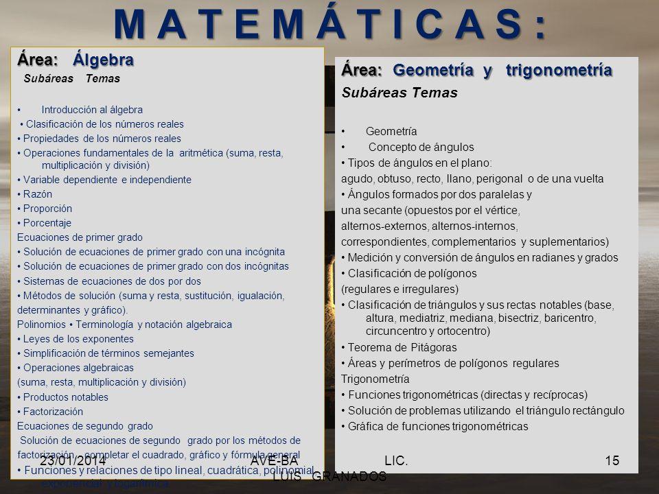 E S P A Ñ O L : Área: Gramática y semántica Subáreas Temas Ortografía Signos de puntuación Uso de mayúsculas y minúsculas Acentuación Reglas ortográfi