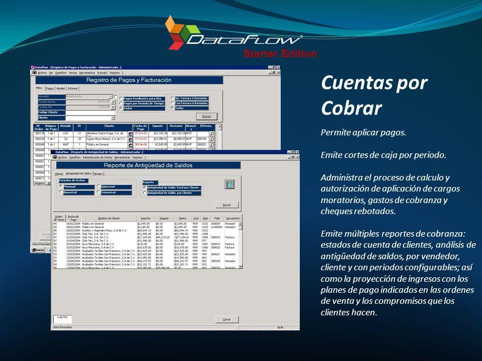Compras Administra la información de proveedores, contactos y cuentas bancarias.