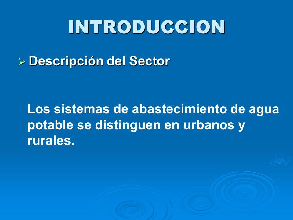 La red de distribución se inicia en la primera casa de la comunidad; la línea de distribución se inicia en el tanque de agua tratada y termina en la primera vivienda del usuario del sistema.