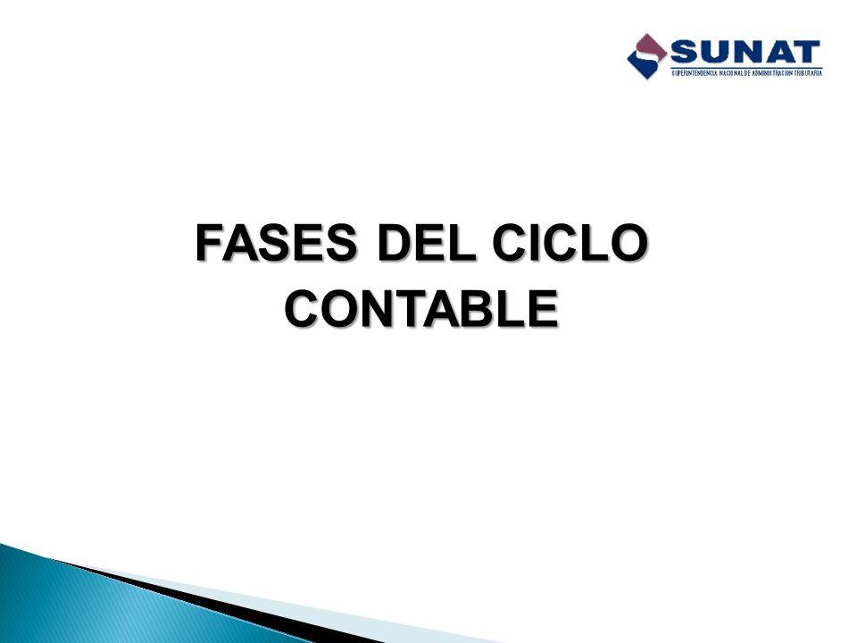 Es un proceso sistemático que comprende diversas fases a través de las cuales se debe registrar las transacciones u operaciones que se realizan en los