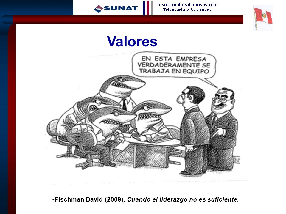 9 Valores Fischman David (2009). Cuando el liderazgo no es suficiente.