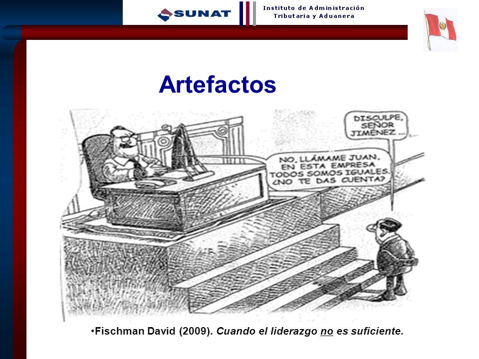 26 Artefactos Fischman David (2009). Cuando el liderazgo no es suficiente.