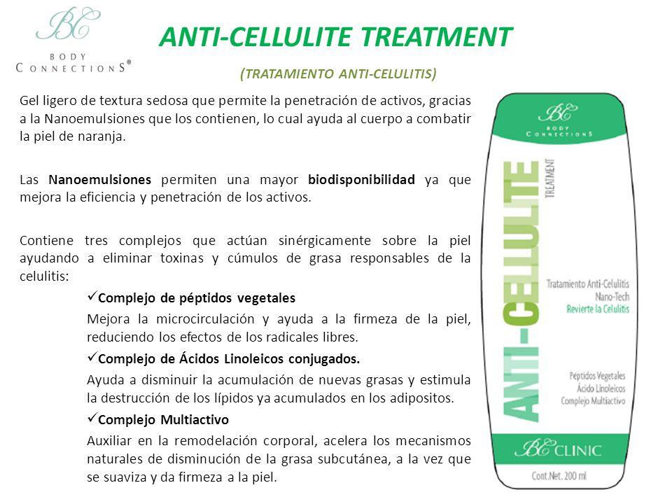 ANTI-STRETCH MARKS TREATMENT (TRATAMIENTO ANTI-ESTRIAS) Crema formulada con principios activos avanzados que previenen y reducen las estrías.