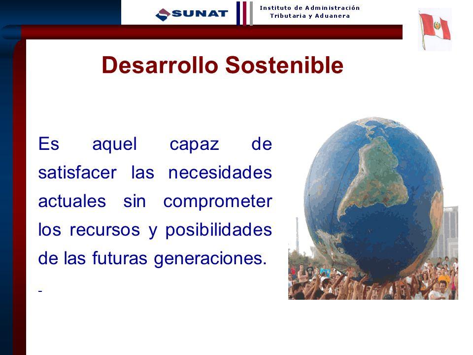 22 Desarrollo Sostenible Es aquel capaz de satisfacer las necesidades actuales sin comprometer los recursos y posibilidades de las futuras generacione