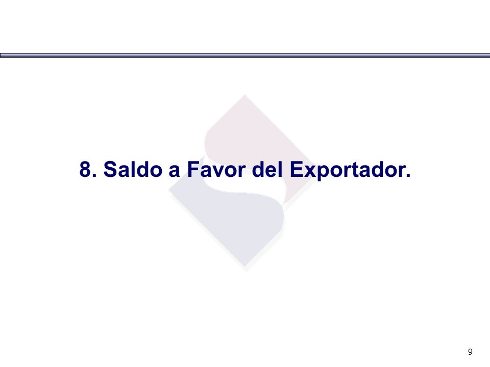 Saldo a favor del exportador Art.34° Ley IGV y Art.