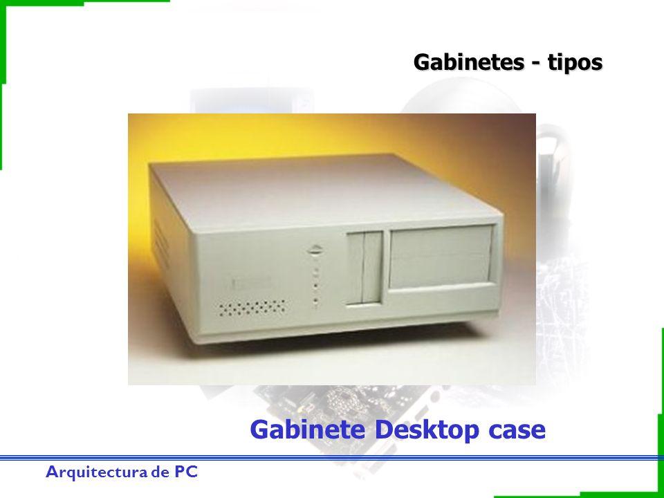 Arquitectura de PC Gabinetes - tipos Gabinete Desktop case