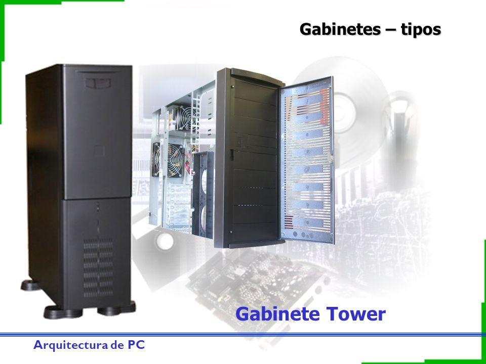 Arquitectura de PC Gabinetes – tipos Gabinete Tower