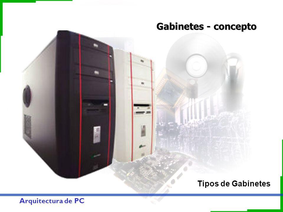 Gabinetes - concepto Tipos de Gabinetes