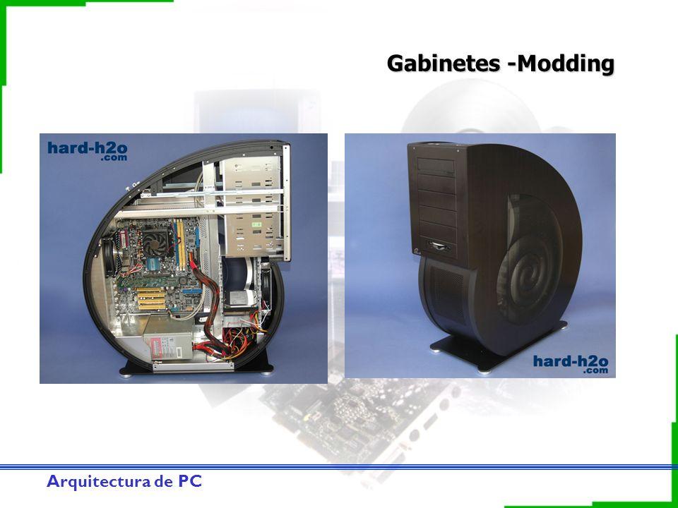 Arquitectura de PC Gabinetes -Modding