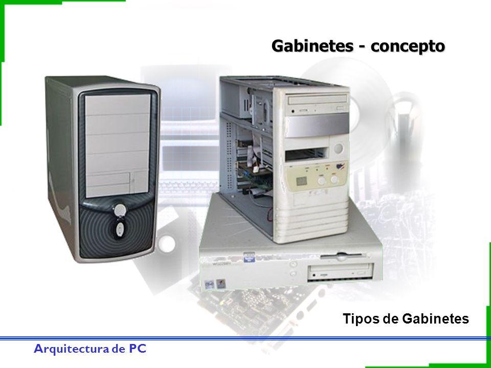 Arquitectura de PC Gabinetes - concepto Tipos de Gabinetes